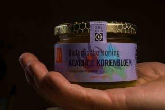 Biologische honing - Acacia & Korenbloem