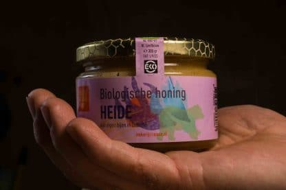 Biologische honing Heidehoning